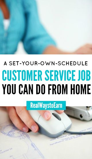 LiveOps is a company regularly hiring home-based workers that will allow you to set your own schedule. Pay will vary -- some do well and others don't. You are paid per minute of talk time.