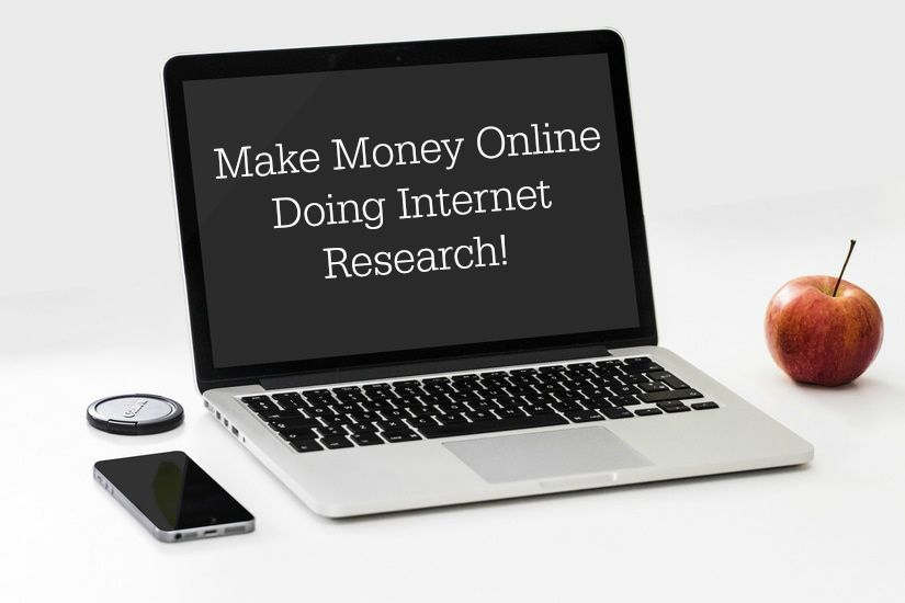 How to Make Money Online Doing Research