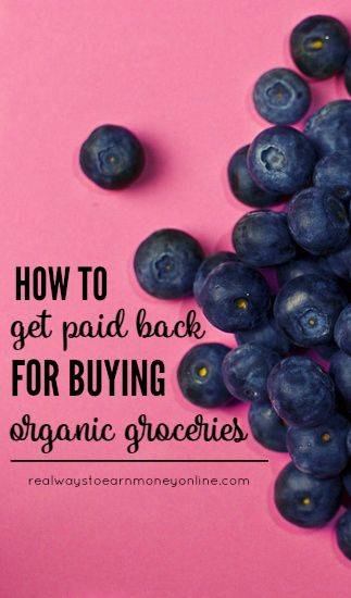 Finally, a way to earn some cash back on those expensive organic groceries!
