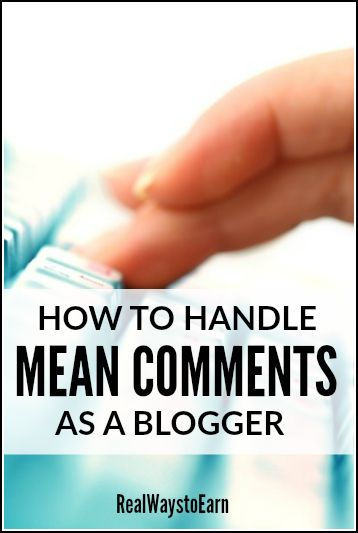 Has someone recently left you an unnecessarily mean, nasty comment on your blog or on social media? Don't let it get to you! Here are some tips for pulling yourself back up after someone else has tried to bring you down.