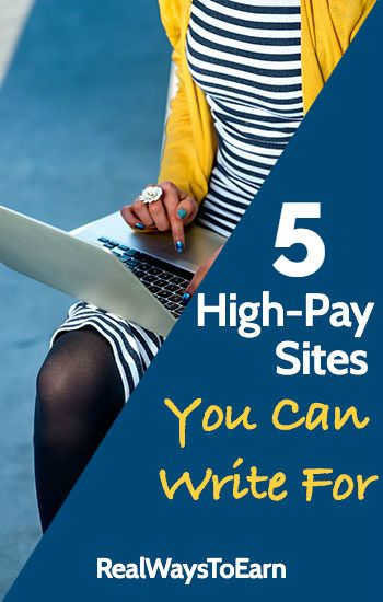 Do you want to get paid a fair rate for your writing work? Here's a list of five reputable sites that will pay you over $100 for your posts.