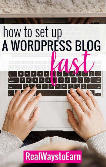 How to get your own WordPress blog up and running in 10 minutes or less!