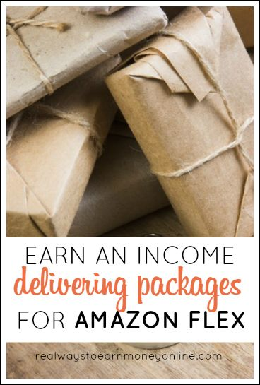 Deliver packages for Amazon Flex and earn up to $25 hourly, working on your own time.