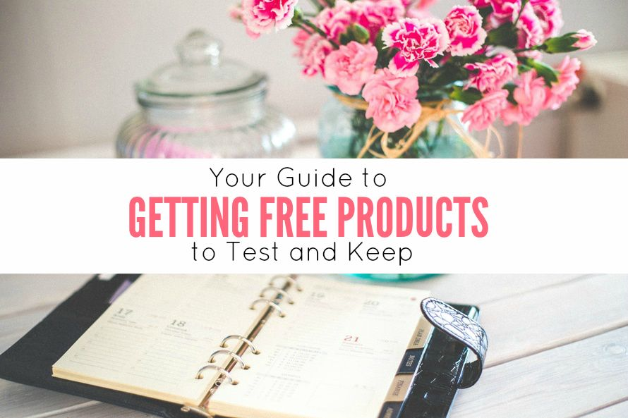 My New eBook: Your Guide to Getting Free Products to Test & Keep