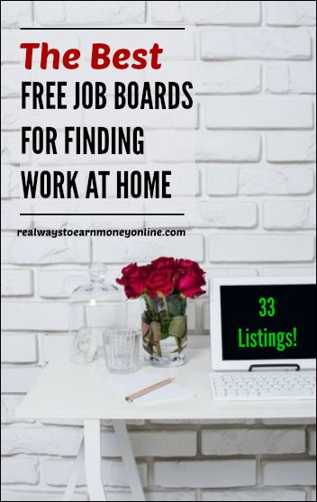 Don't want to pay a fee to find work at home jobs? Here are the best job boards that don't charge a fee.