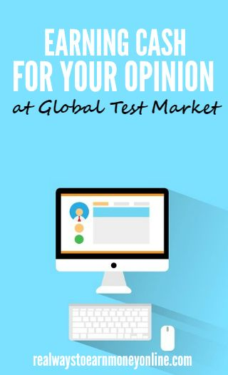 Getting paid to answer surveys for Global Test Market -- an older, reputable survey panel.