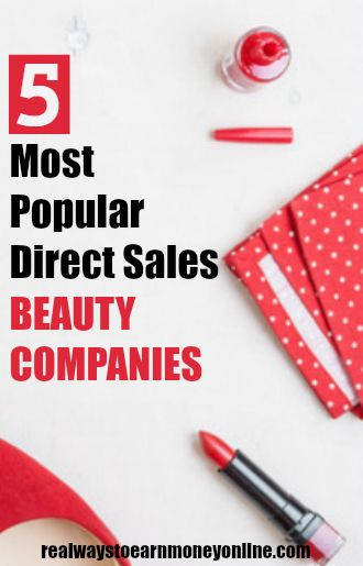 Have you thought about selling beauty products on the side, since you enjoy a particular company's products? Do you consider yourself loyal to a particular direct sales brand? Then you may want to consider spending the time and money to invest in becoming a direct sales distributor in the beauty and cosmetic field. While many people are turned off by direct sales or anything resembling an MLM (multi-level marketing), some still go on to enjoy the money, flexibility, and other awarded perks whether full-time or part-time.
