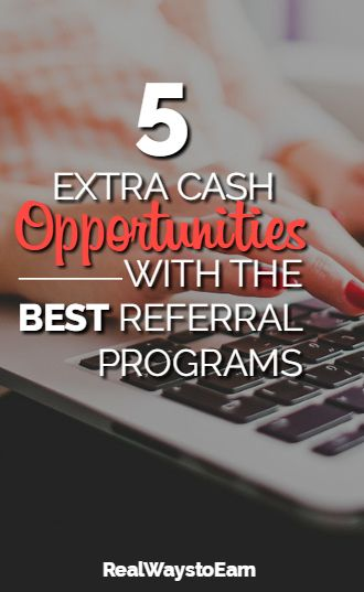 5 extra cash opportunities that have hands down the BEST referral and refer-a-friend programs. These are truly worth not only using, but also recommending!