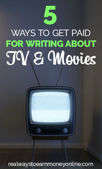 Are you an expert on TV and movies as well as a gifted writer? Here's a list of 5 sites that will pay for content related to those topics.