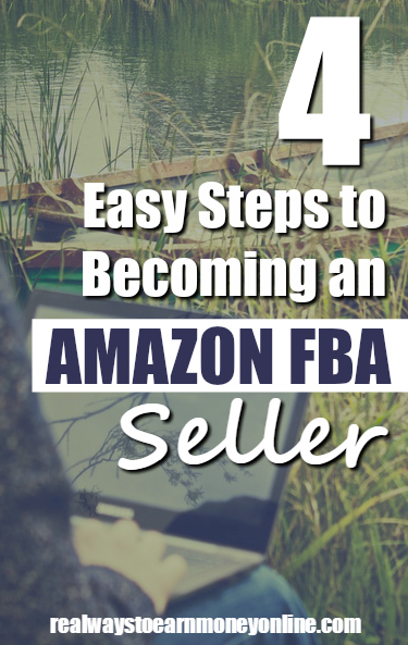 Four EASY steps to getting started with Amazon FBA - an easy way to make money re-selling, while having Amazon do all the shipping for you!