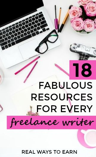 Big list of 18 of the best freelance writer resources and tools.
