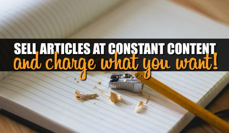 Constant Content Review – Sell Your Articles Here For $100 Or More