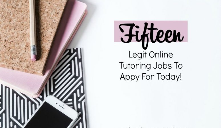 Online Tutoring Jobs: 15 Companies To Apply With Today!