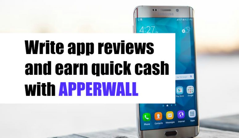 Earn Quick Cash Writing App Reviews Through Apperwall