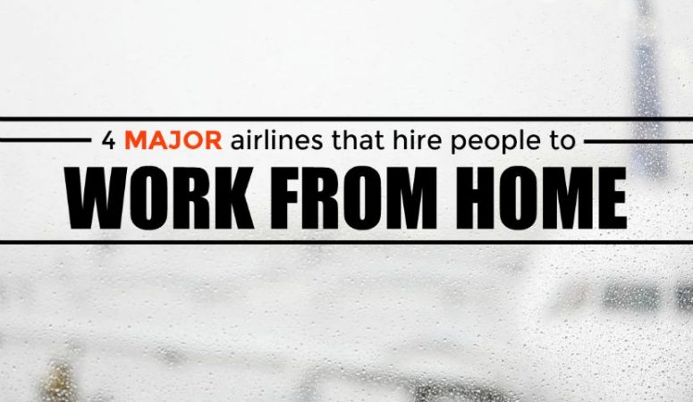 4 Major Airlines That Hire People to Work From Home