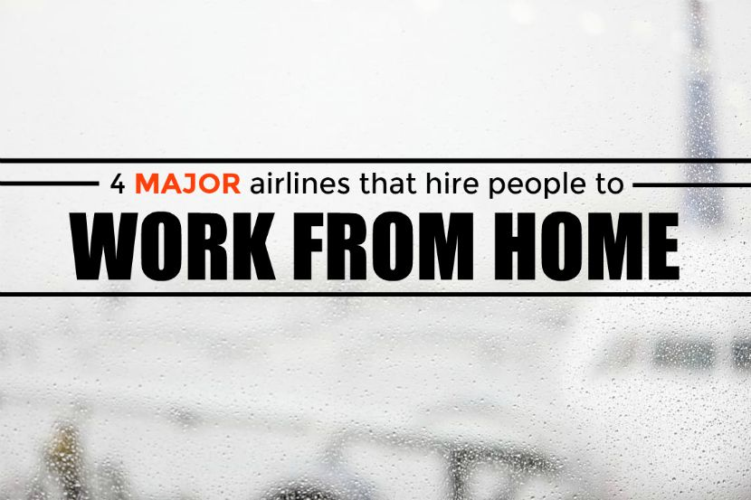work from home airline four major airlines that hire people to work from home 7563