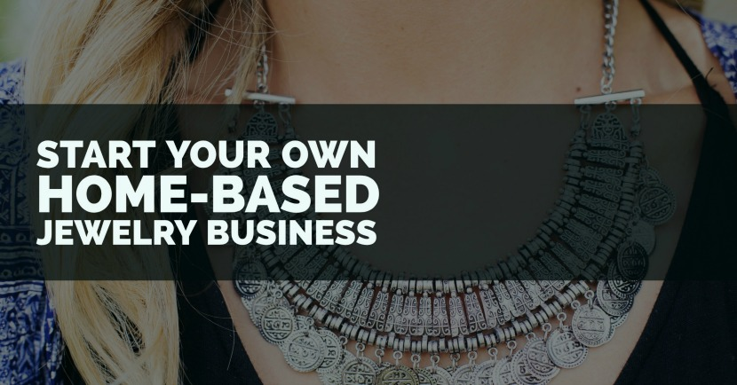 get a home based jewelry business started with