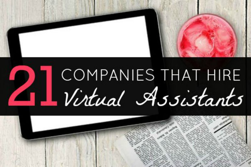 21 work at home virtual assistant jobs to apply for today - Real Virtual Assistant Jobs
