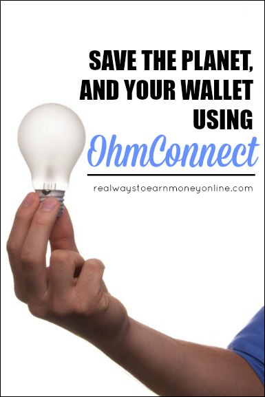 OhmConnect review - how to save money and be enviro-friendly using this service.