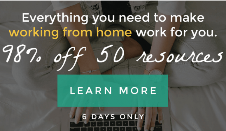 ENDED – The Ultimate Work at Home Bundle Is Live!