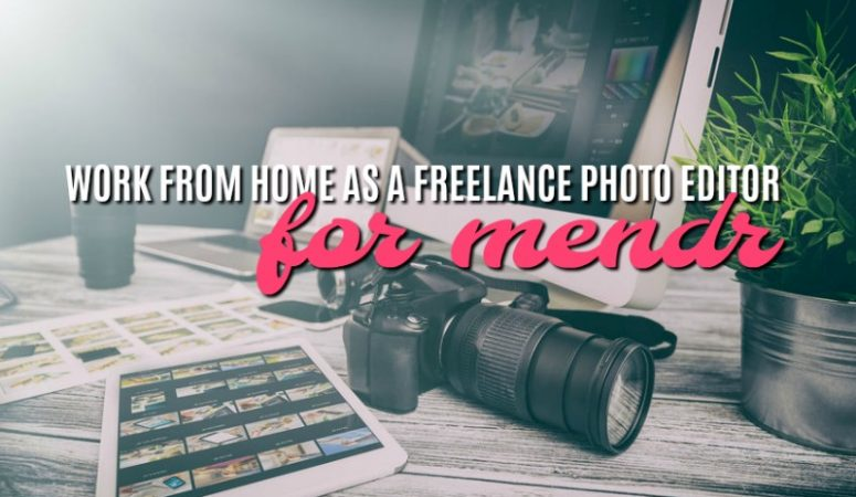 Get Paid to Do Freelance Photo Editing With the Mendr App