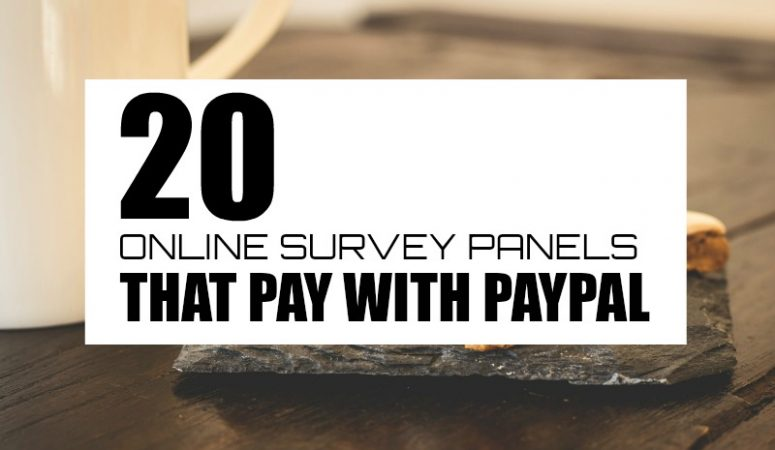 20 Ways to Take Online Surveys And Get Paid Via Paypal