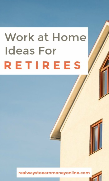 Are you retired and looking for a work at home job? Here's a big list of options for retirees.