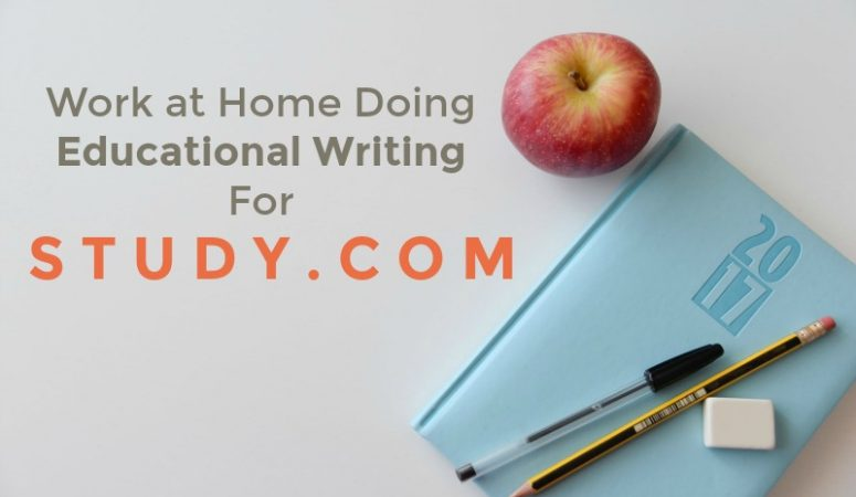 Study.com Review – Work at Home Doing Educational Writing