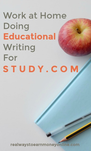 Do you want to #workathome as a writer? Study.com usually has educational writing openings for multiple countries.