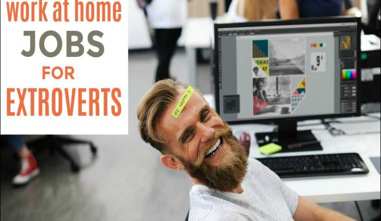 5 Ideal Work at Home Jobs For Extroverted People
