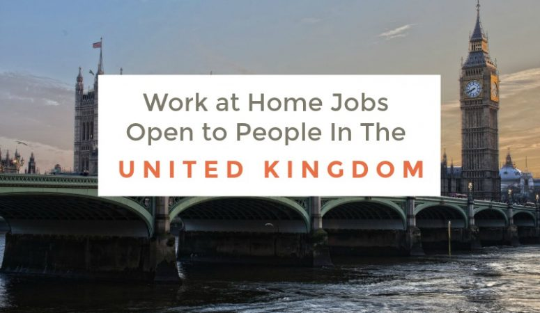 75 Work at Home Companies Open to People In the UK