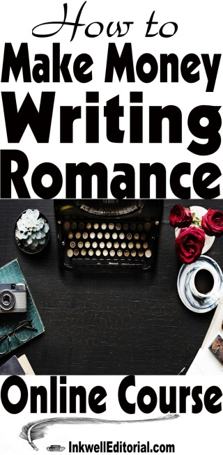 How to write a romance novel and earn money from it. No professional writing experience is necessary. #makemoneywriting #makemoneywritingromance #romancenovelist #freelancewriting