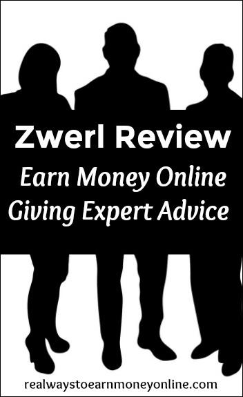 Zwerl - Earn money chatting with others, giving advice on various topics.