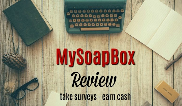 MySoapBox Review – Take Surveys And Earn Rewards
