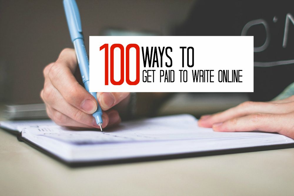 100 Work From Home Writing Jobs