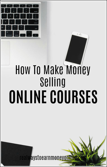 How to make money online selling online courses - a very hot industry right now!