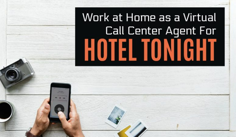 Work From Home Doing Customer Support For Hotel Tonight
