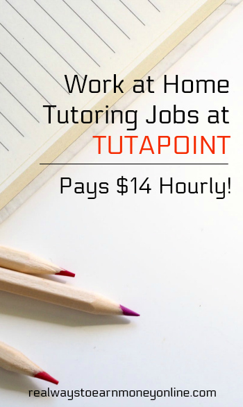 TutaPoint is regularly hiring #workathome academic tutors! Earn $15 to $17 hourly plus bonuses and incentives.