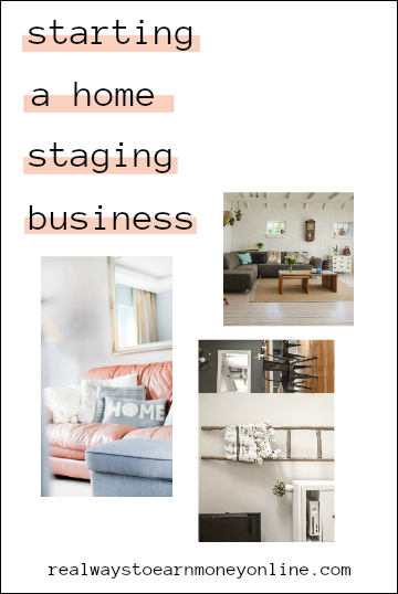 All about starting a home staging business - earn $75+ an hour!