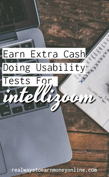 You can make extra money online doing usability tests for IntelliZoom. They will pay you $10 per test for just twenty minutes of your time. Paypal payments.