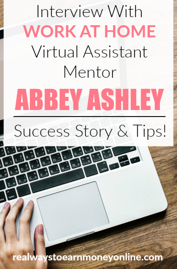Check out our interview with virtual assistant mentor Abbey Ashley of The Virtual Savvy. She shares how she got her own VA business off the ground along with some tips on how you can start, too!