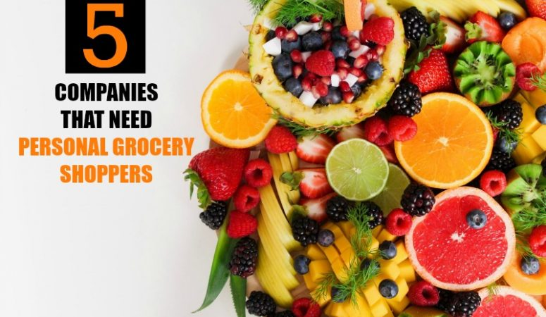 Personal Grocery Shopper Jobs – 5 Companies To Try!