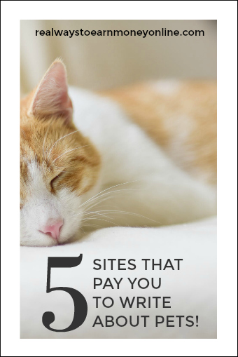 5 sites that pay you to write about pets!