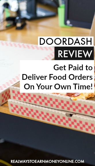 DoorDash Review - Get paid to deliver food orders on your own time.