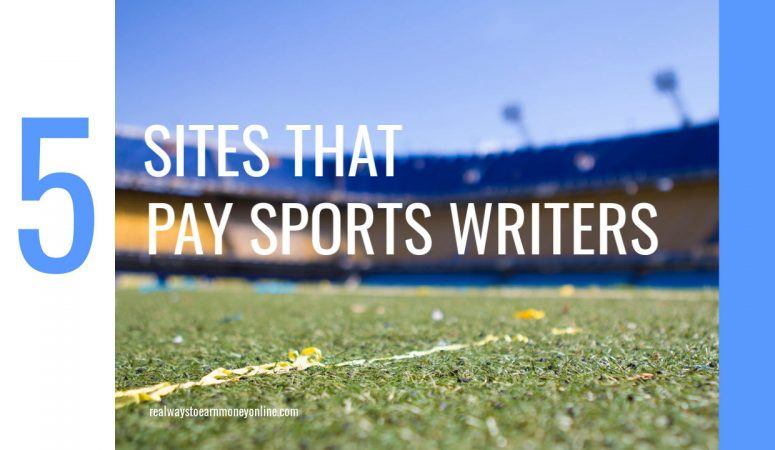 5 Sites That Will Pay You To Write About Sports