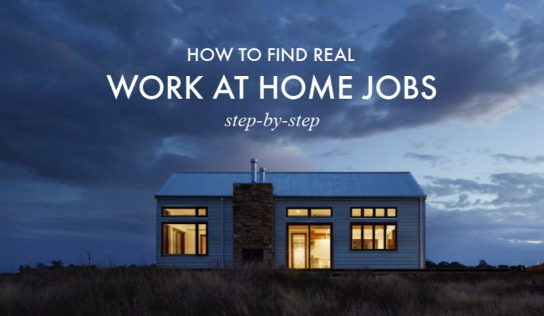 How to Find Work From Home Jobs Step-By-Step