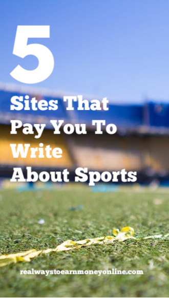List of sites that pay you to write about sports.