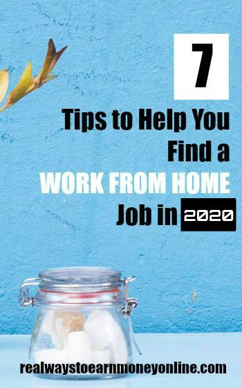 Tips to help you find a work at home job in 2020. #workfromhome #workfromhomejobs #remotework #newyearresolution