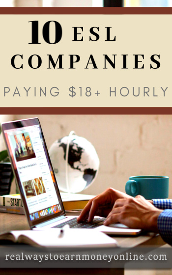 10 online esl companies paying $18+ hourly