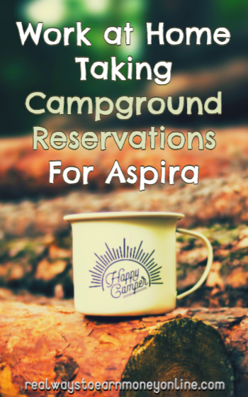 Aspira Review - Get Paid To Take Campground Reservations From Home